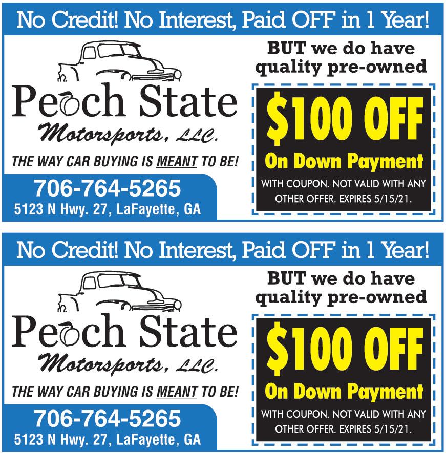 PEACH STATE MOTORSPORTS