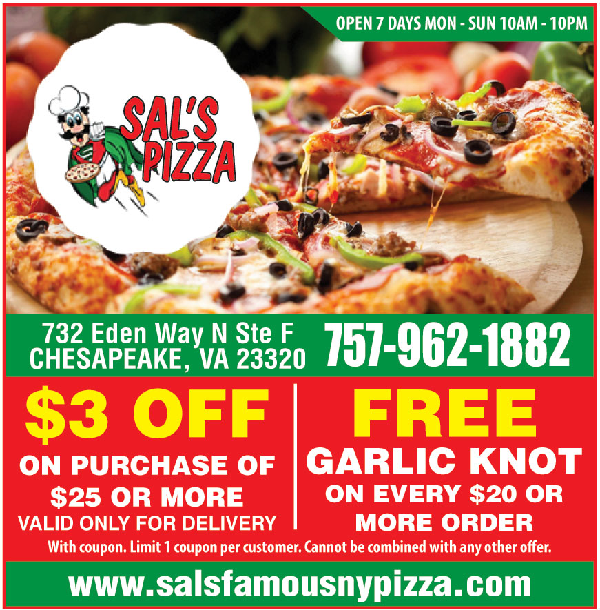 SALS FAMOUS NY PIZZA