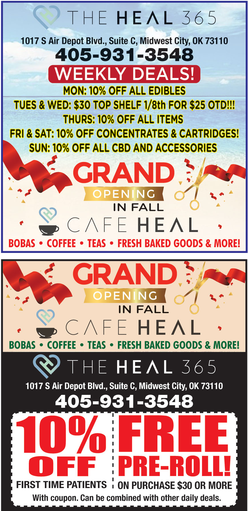 THE HEAL 365 DISPENSARY