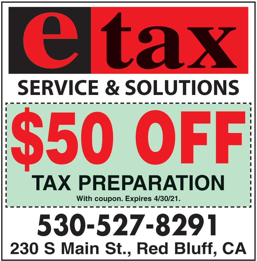 E TAX SERVICES