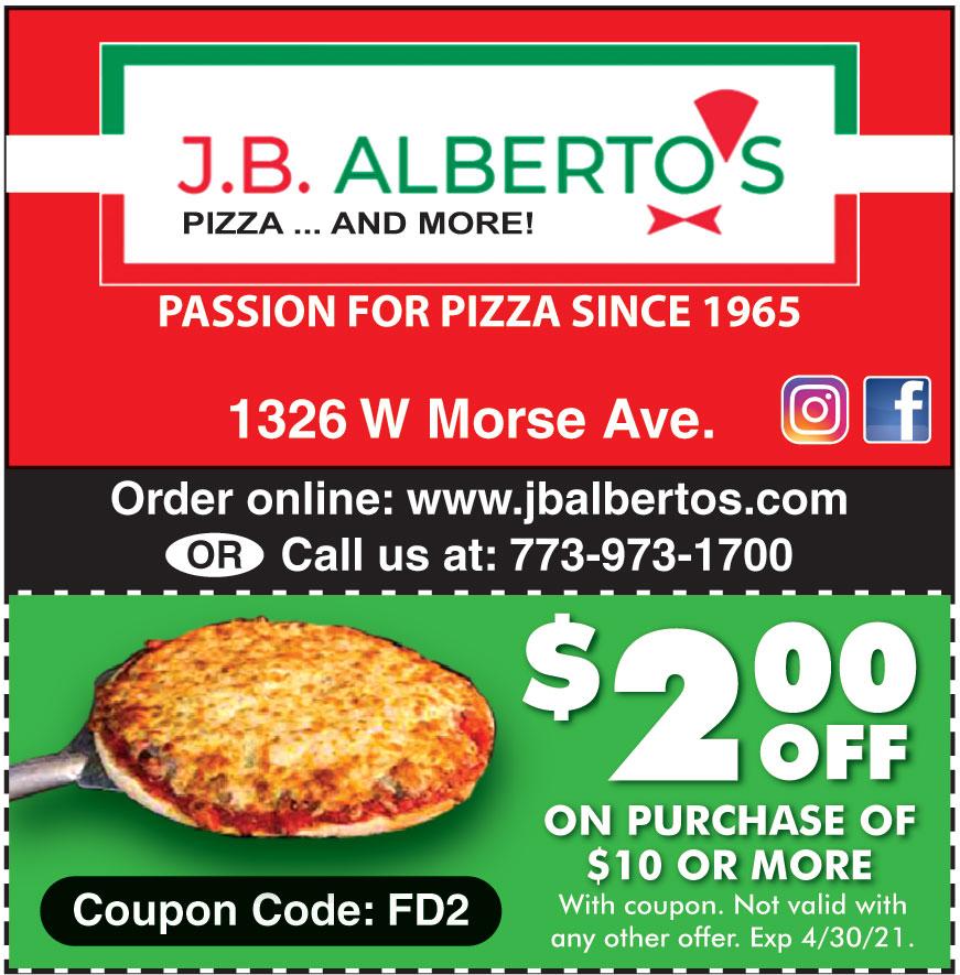 JB ALBERTOS PIZZA