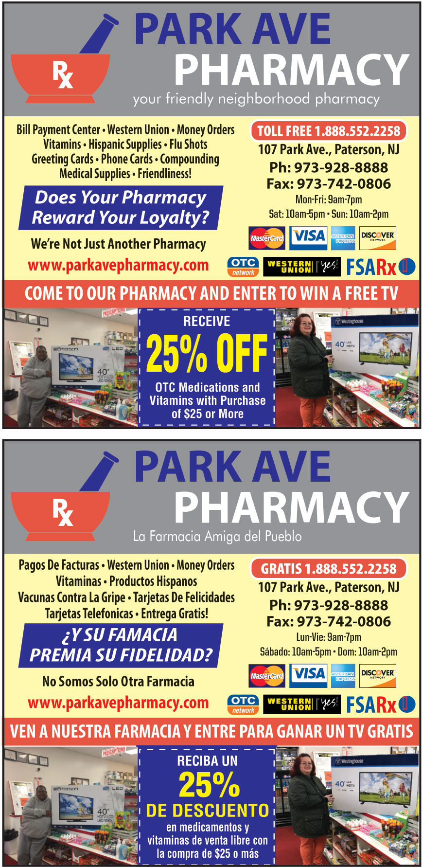 PARK AVE PHARMACY