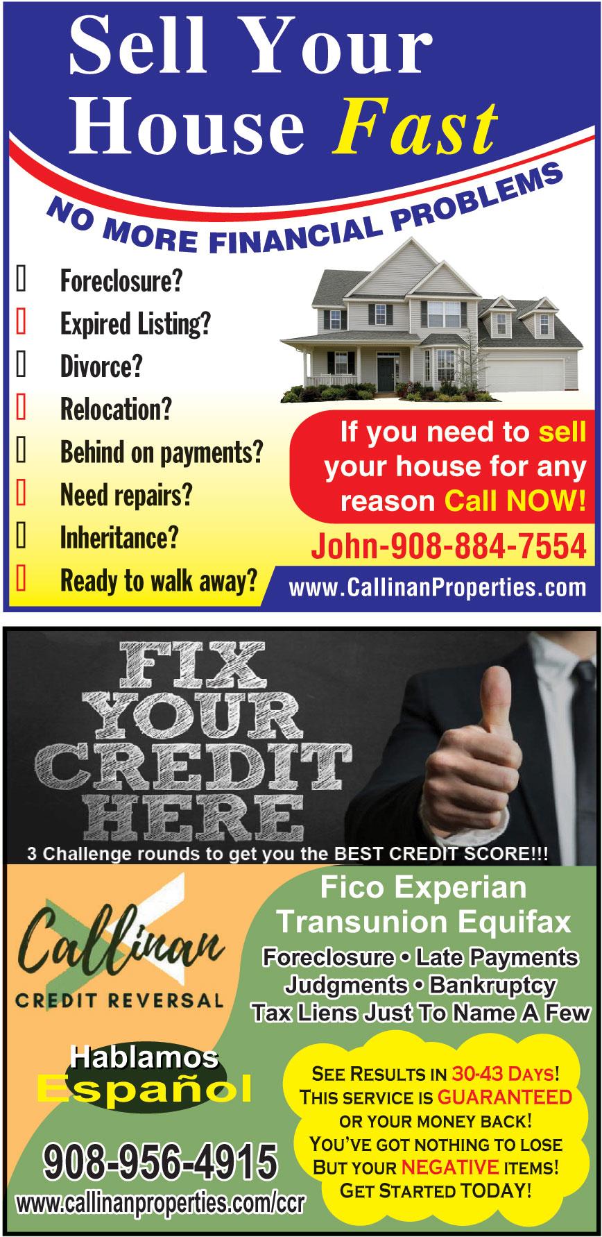 CALLINAN PROPERTIES LLC