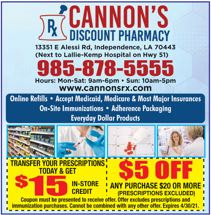CANNONS DISCOUNT PHARMACY