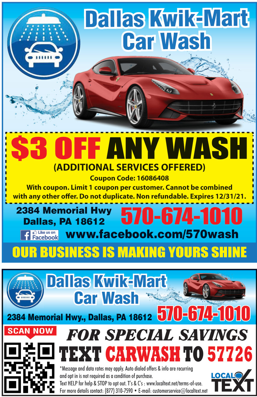 DALLAS KWIK MART CAR WASH