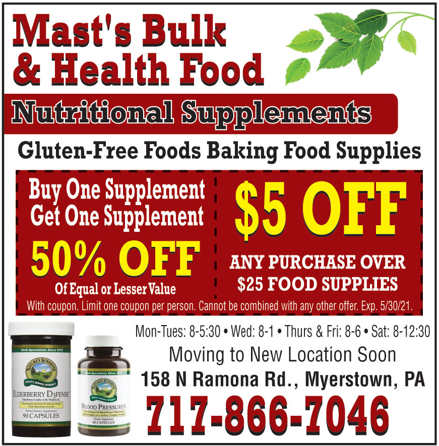 MAST BULK AND HEALTH FOOD