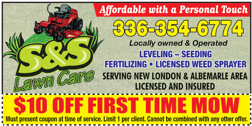 S AND S LAWN CARE