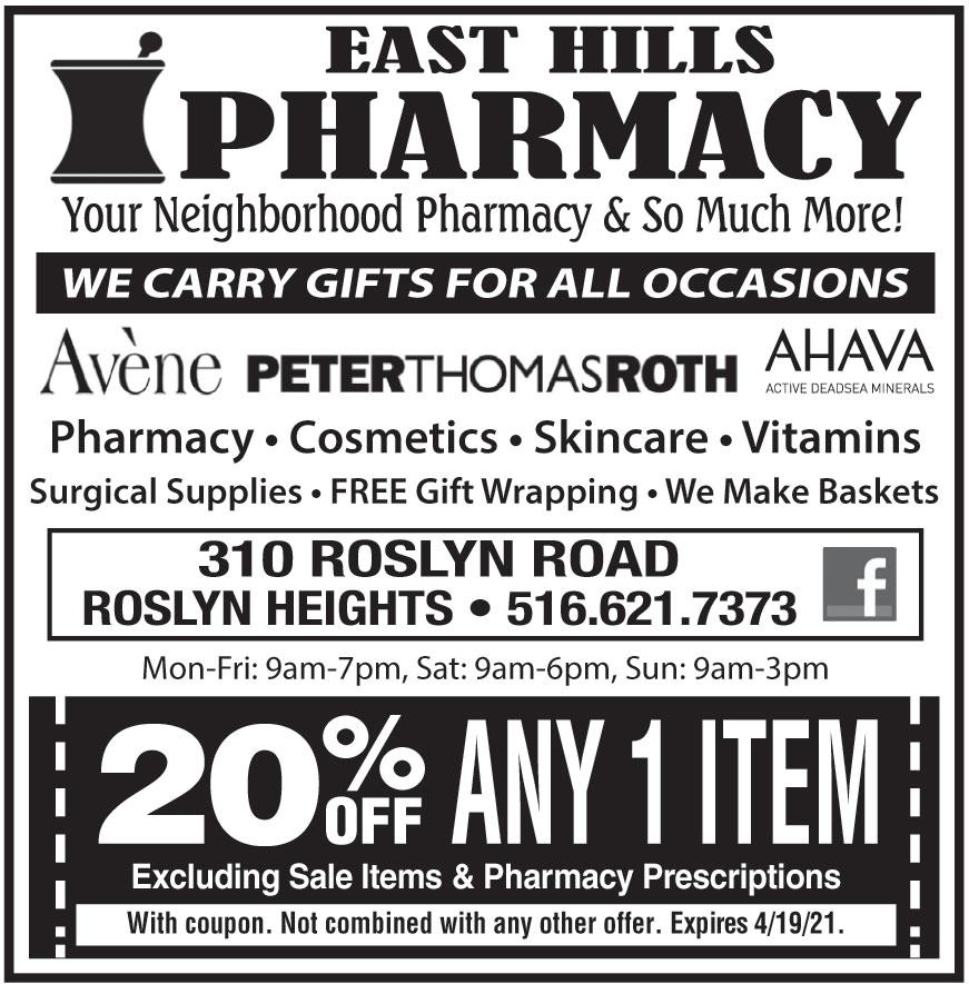 EAST HILLS PHARMACY
