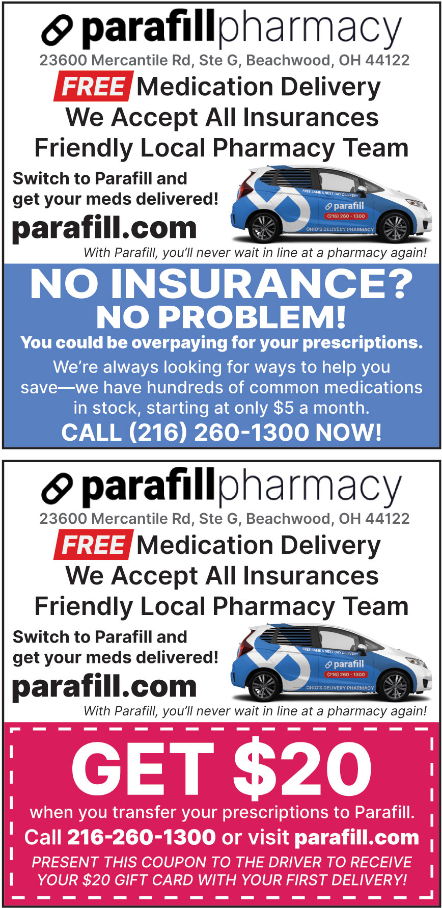 PARAFILL PHARMACY
