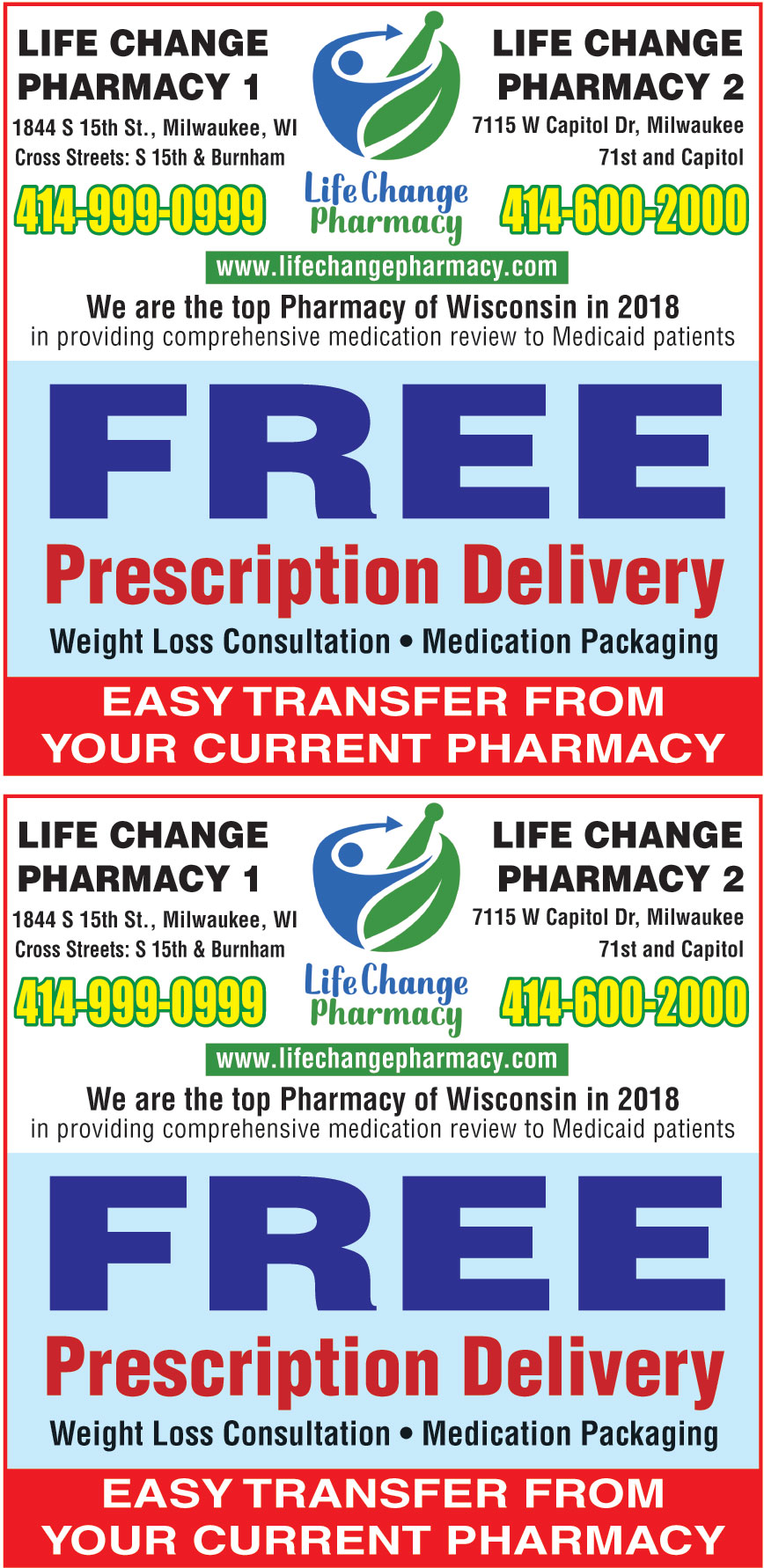 LIFE CHANGE PHARMACY