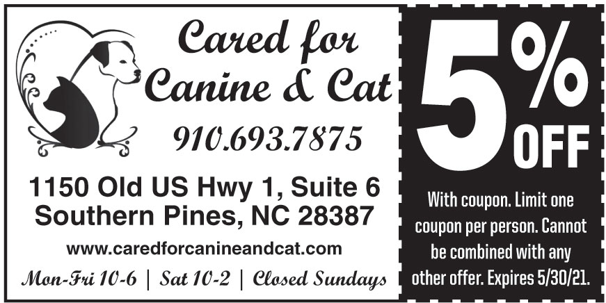 CARED FOR CANINE AND CAT