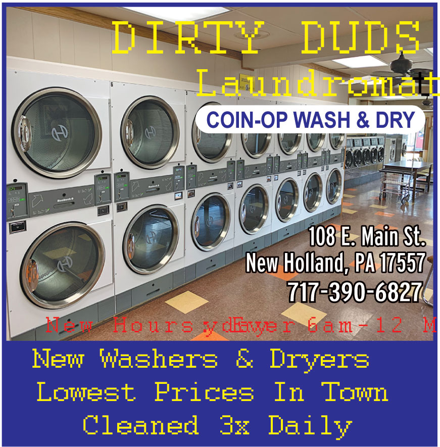 DIRTY DUDS LAUNDROMAT