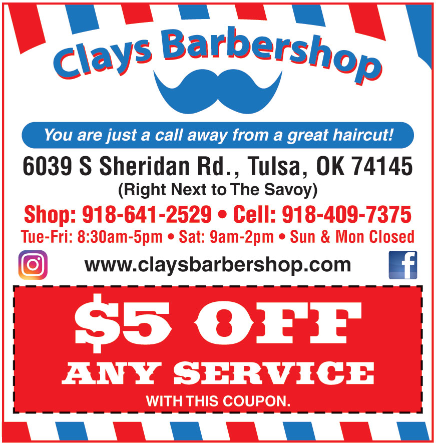 CLAYS BARBERSHOP