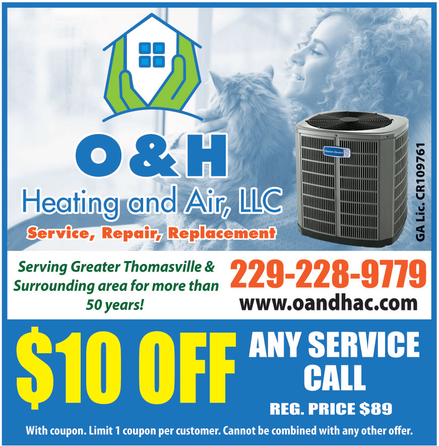 O AND H HEATING AND AIR