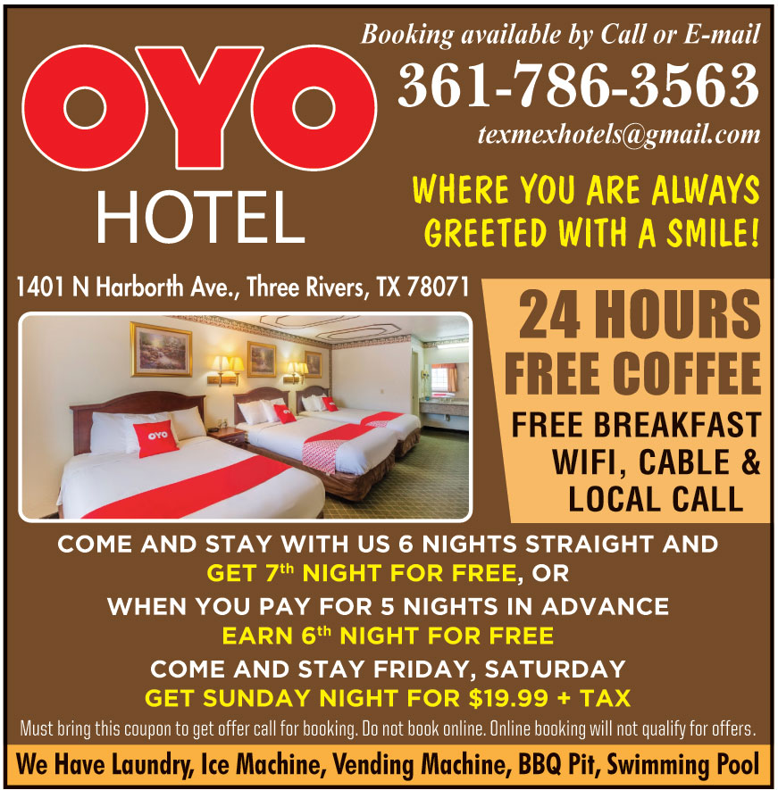 OYO HOTEL THREE RIVERS