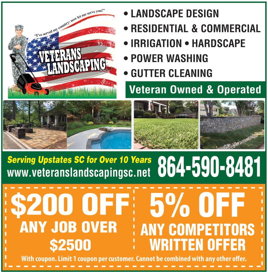 VETERANS LANDSCAPING LLC