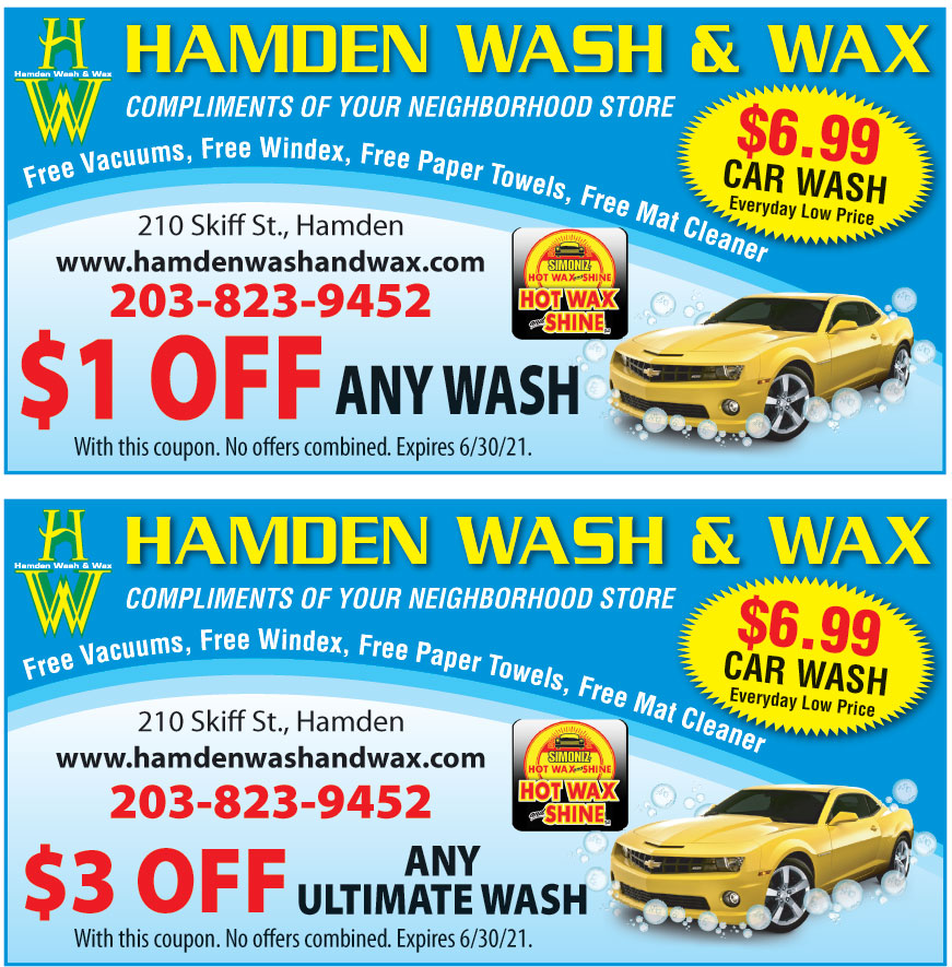 HAMDEN WASH AND WAX