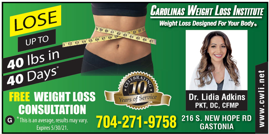 CAROLINAS WEIGHT LOSS INS