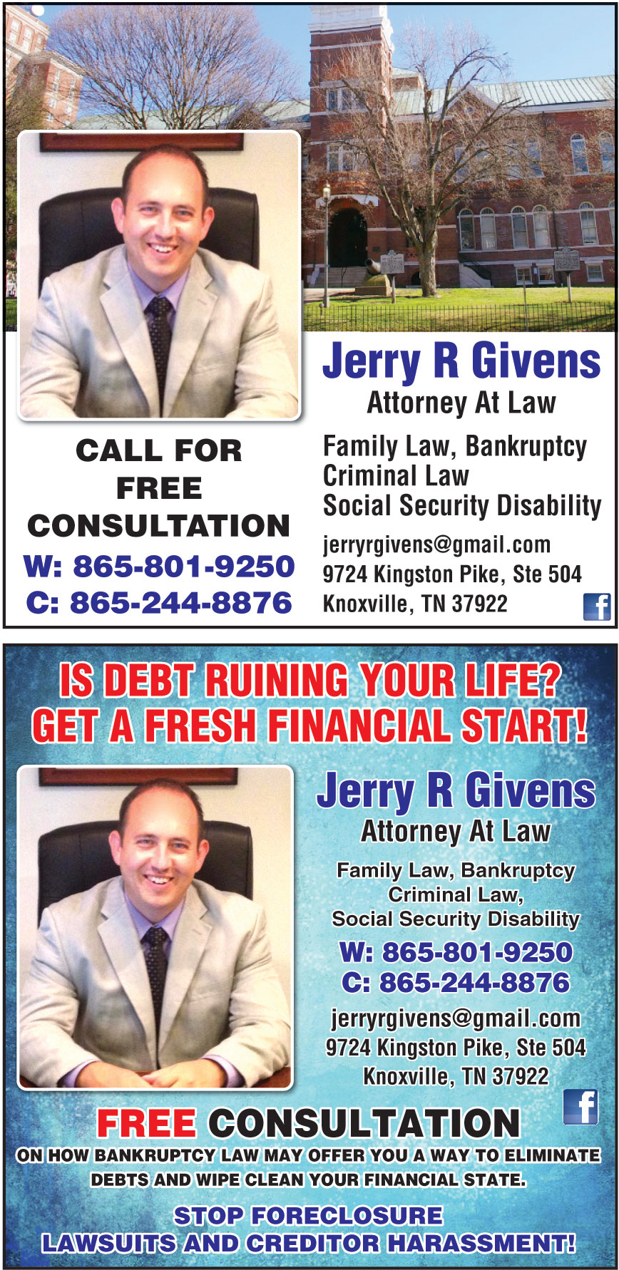 JERRY GIVENS ATTORNEY