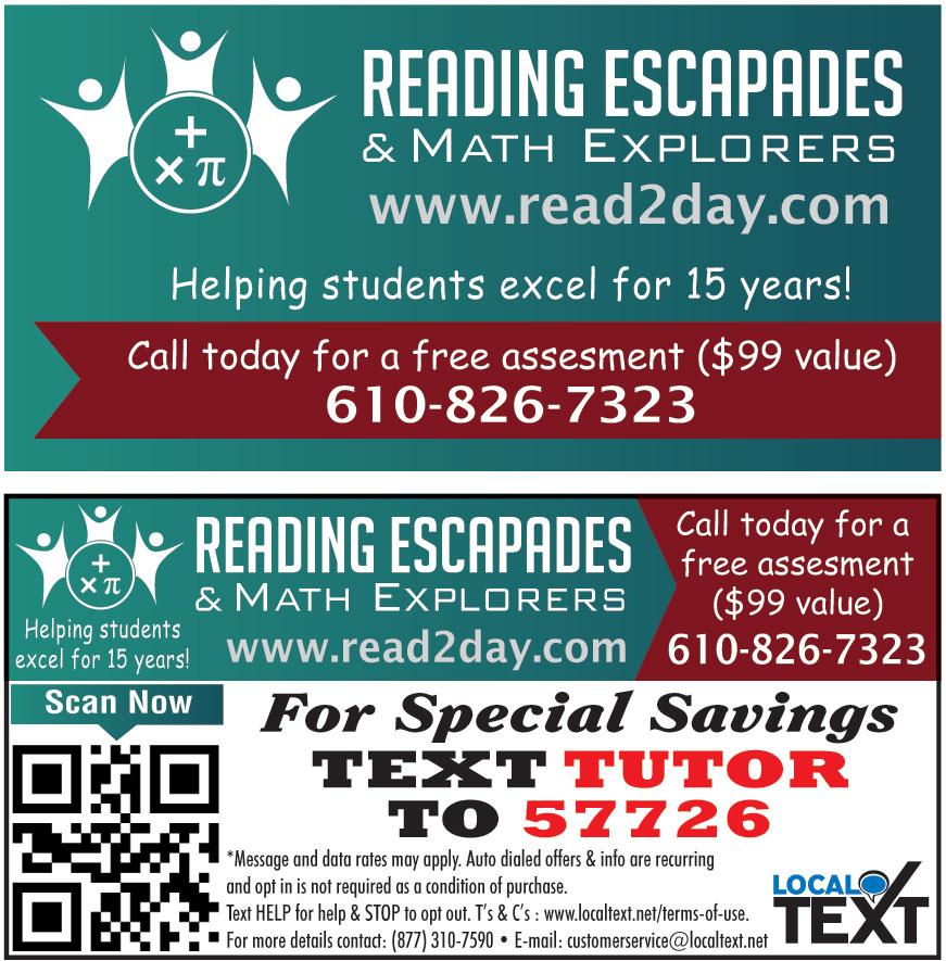 READING ESCAPADES AND MAT