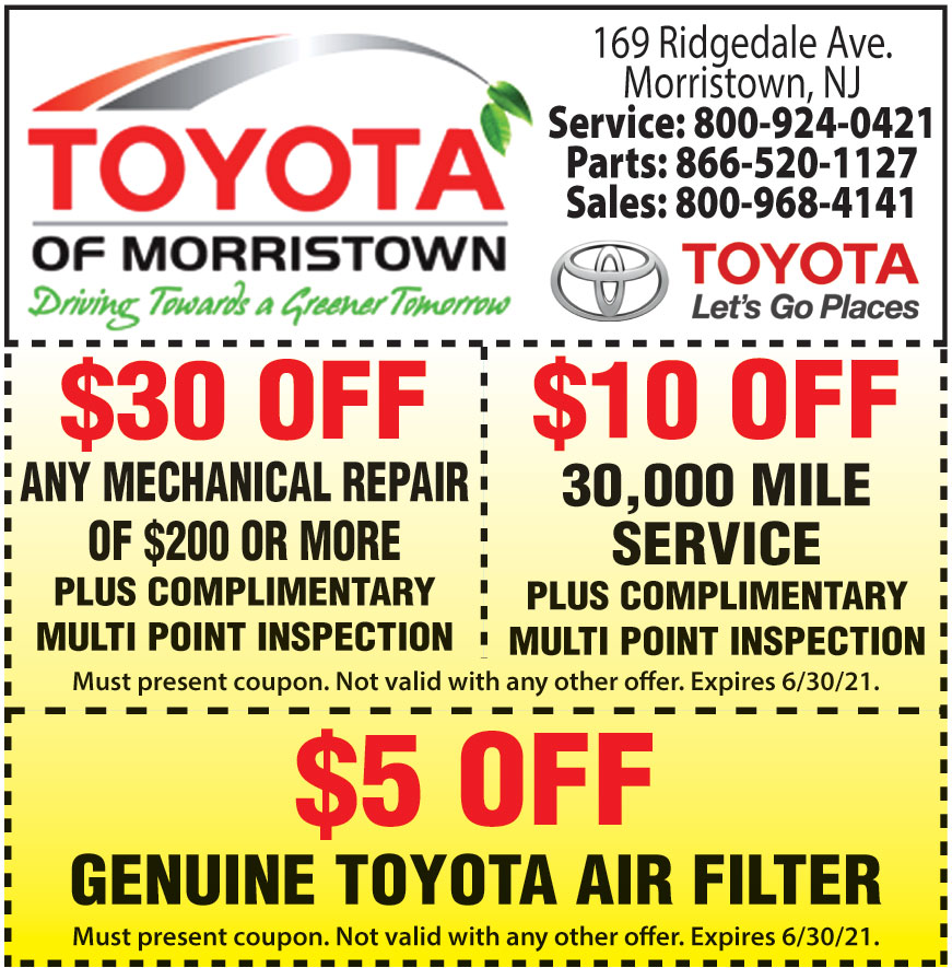 TOYOTA OF MORRISTOWN