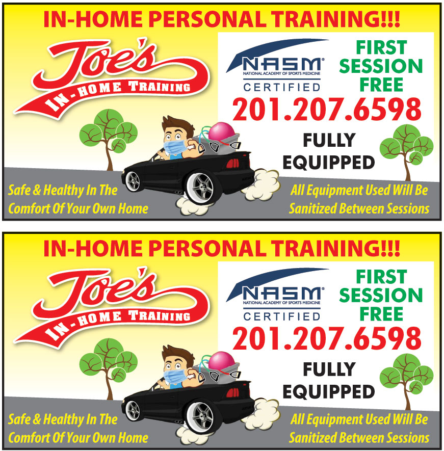 JOES IN HOME TRAINING