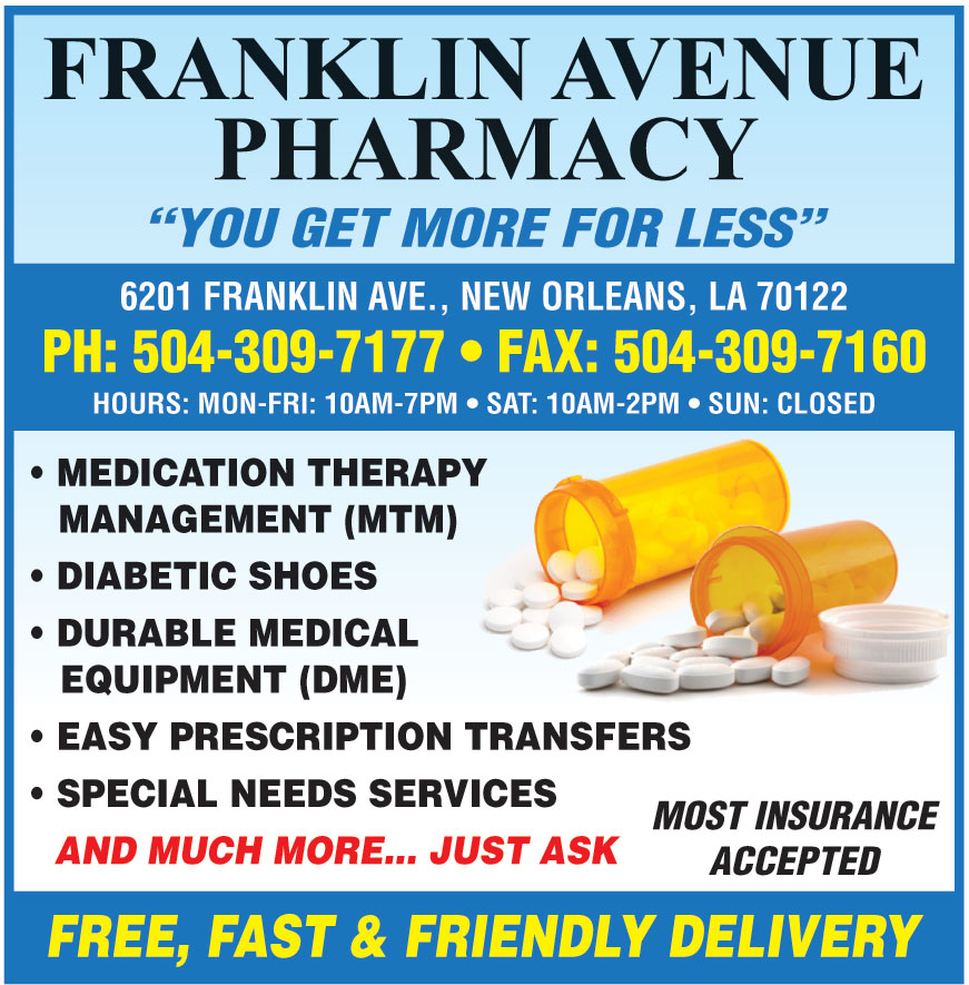 FRANKLIN AVE PHARMACY