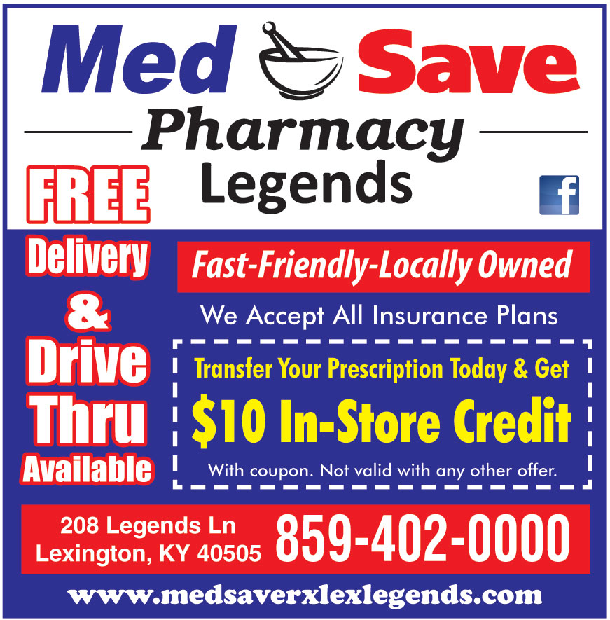 MED SAVE PHARMACY LEGENDS