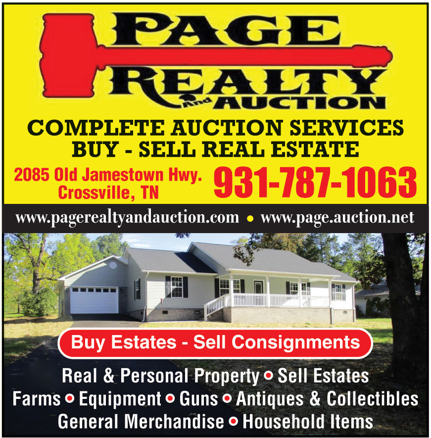 PAGE REALTY AUCTION