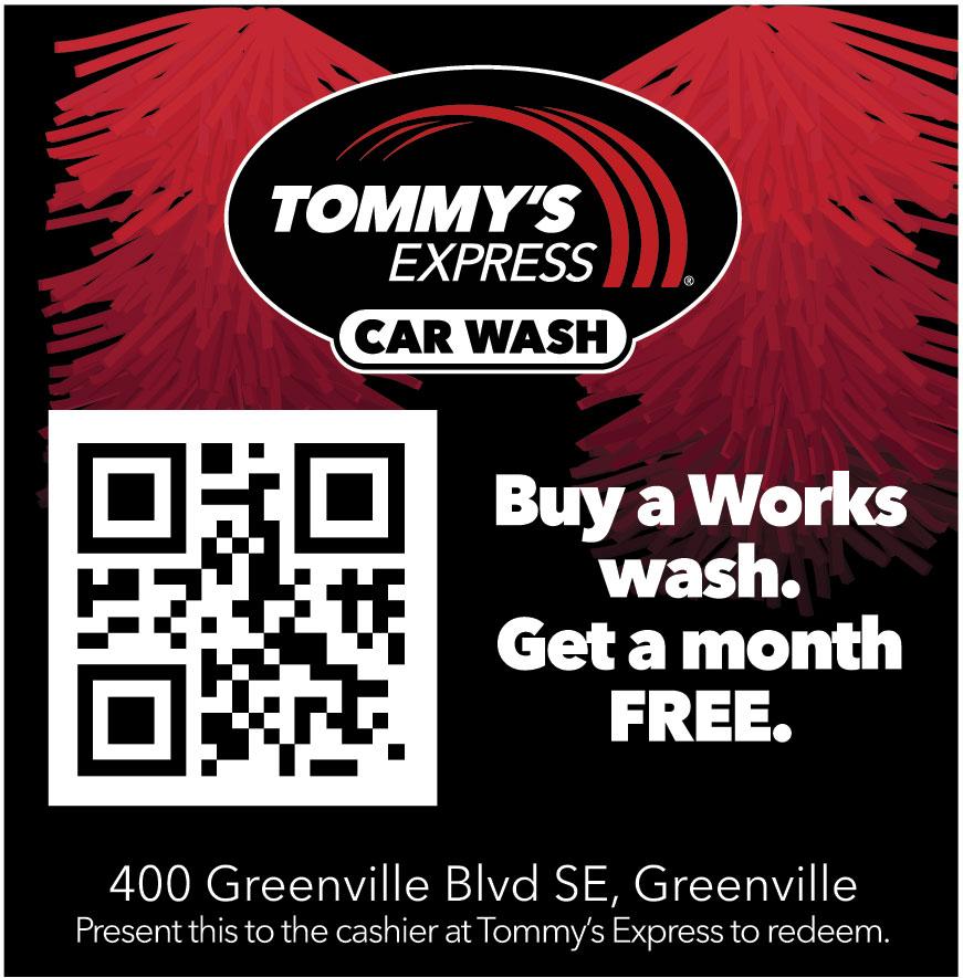 TOMMYS EXPRESS CAR WASH