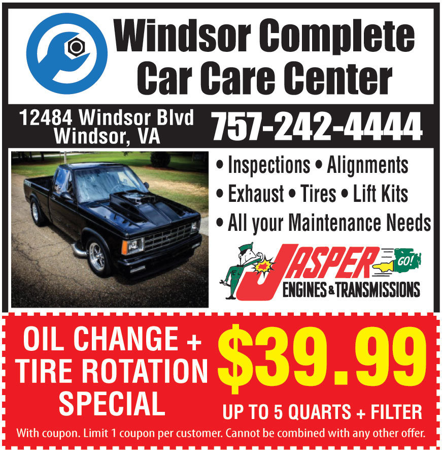 WINDSOR COMPLETE CAR CARE
