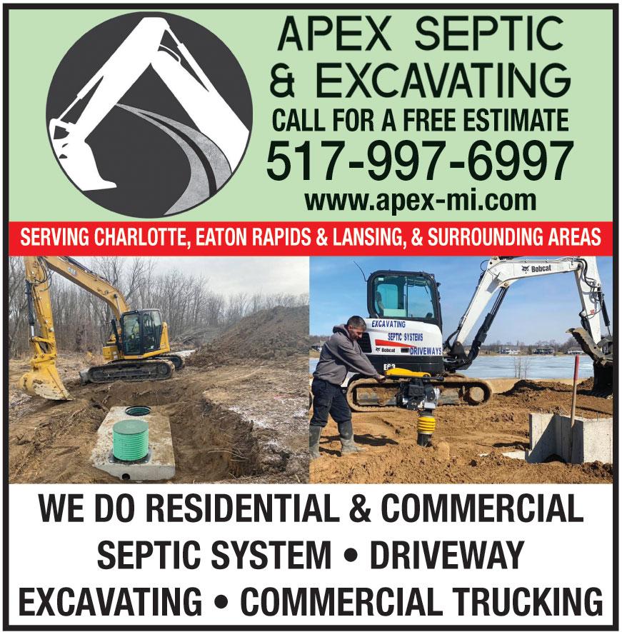 APEX SEPTIC AND EXCAVATIN