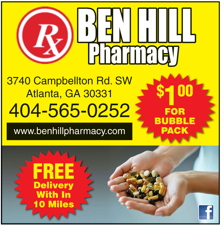 BEN HILL PHARMACY INC