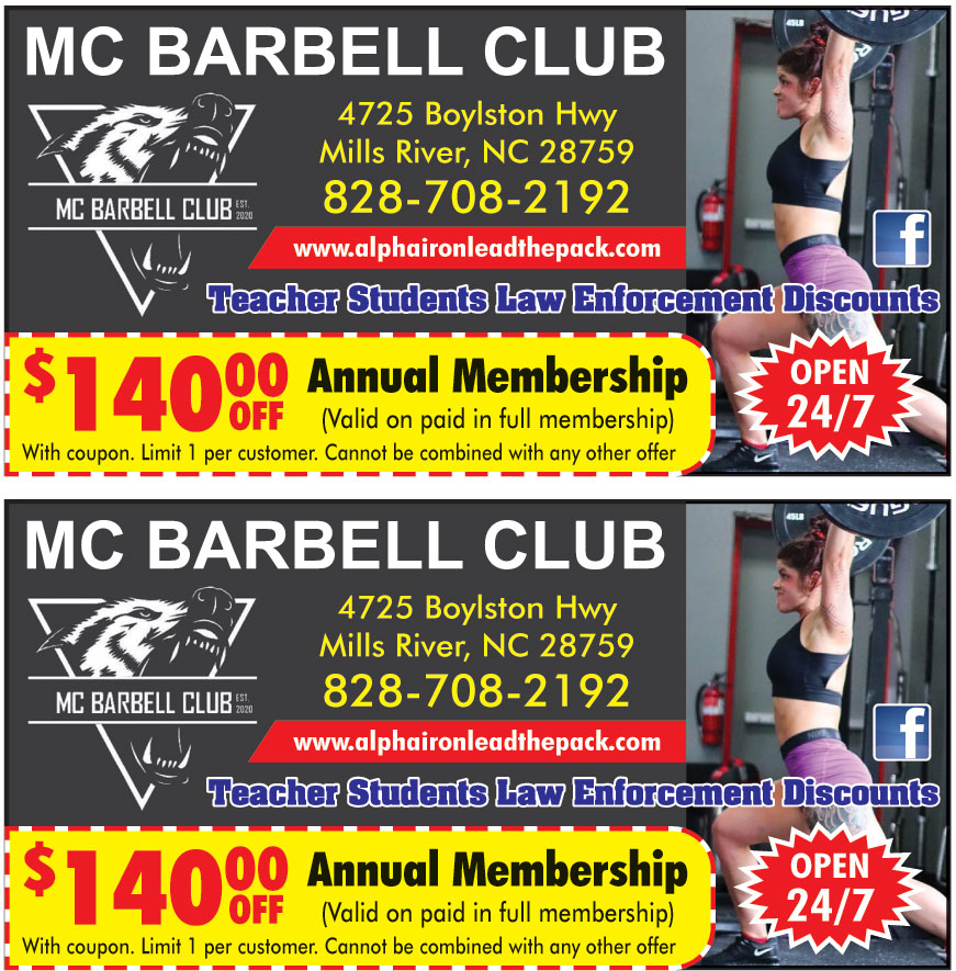 MC BARBELL CLUB