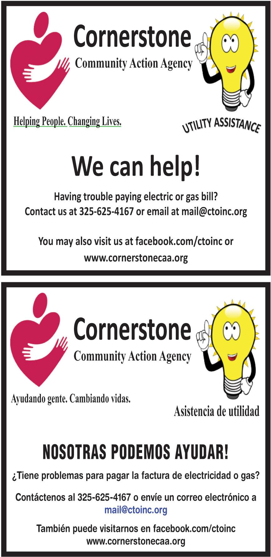 CORNERSTONE COMMUNITY
