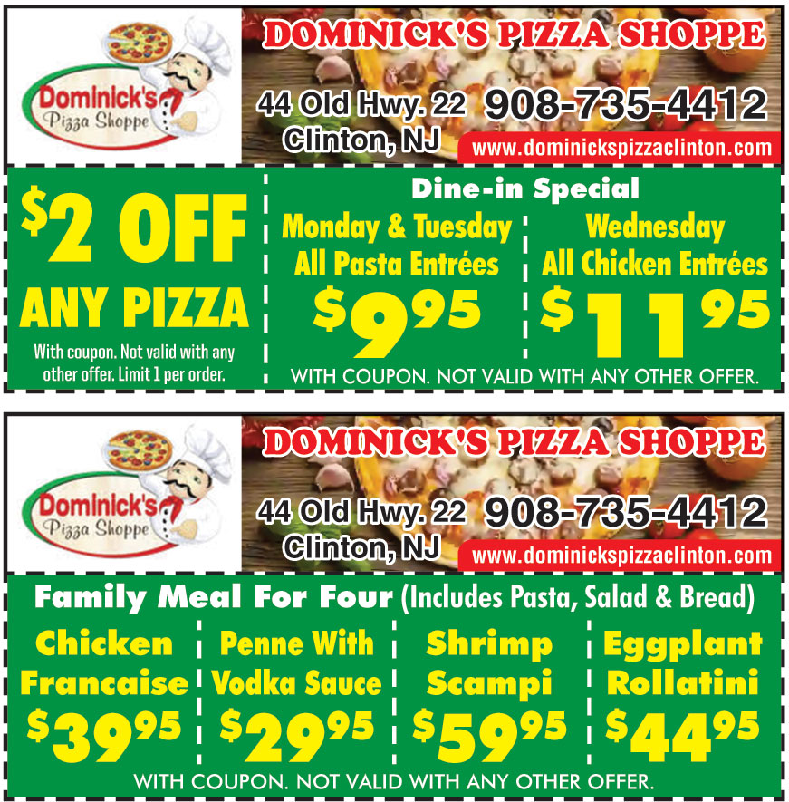 DOMINICKS PIZZA SHOPPES