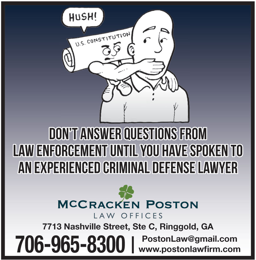 MCCRACKEN POSTON ATTORNEY