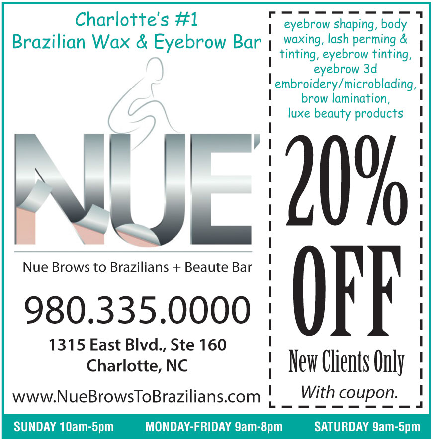 NUE BROWS TO BRAZILIANS