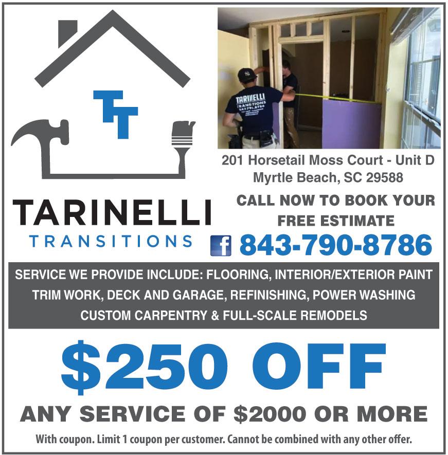 TARINELLI TRANSITIONS LLC