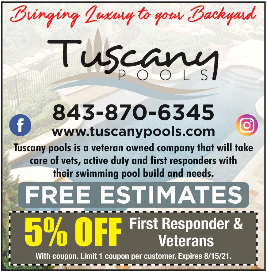 TUSCANY POOLS LLC