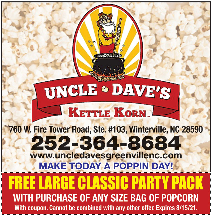 UNCLES DAVES KETTLE KORN
