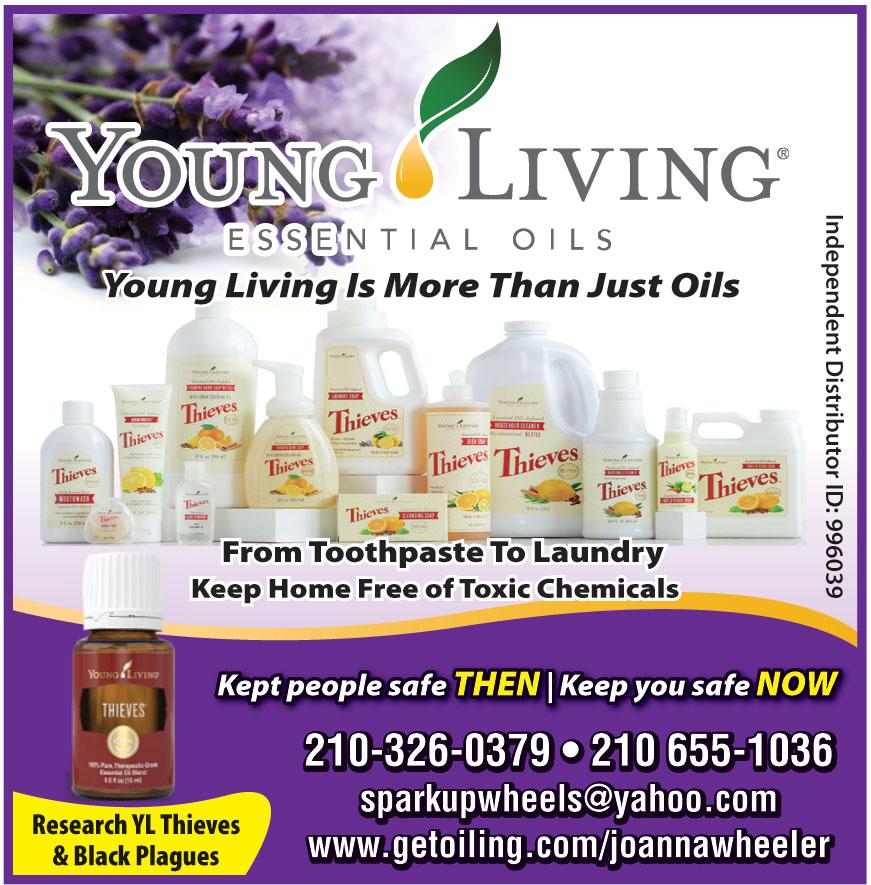 YOUNG LIVING ESSENCIAL