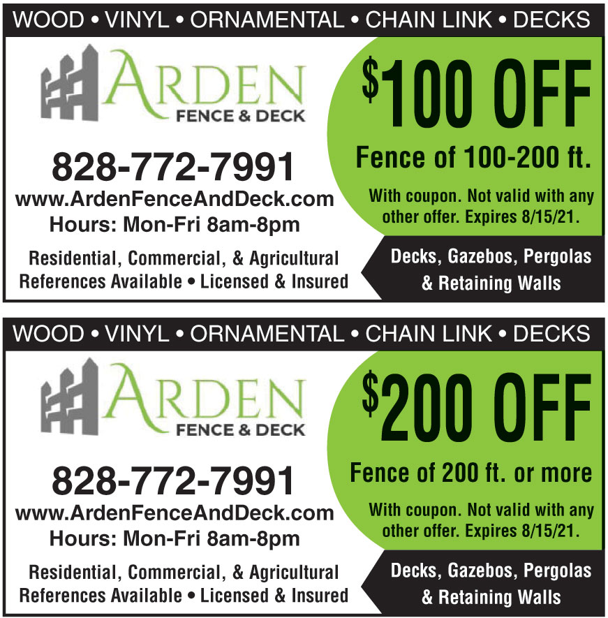 ARDEN FENCE AND DECK