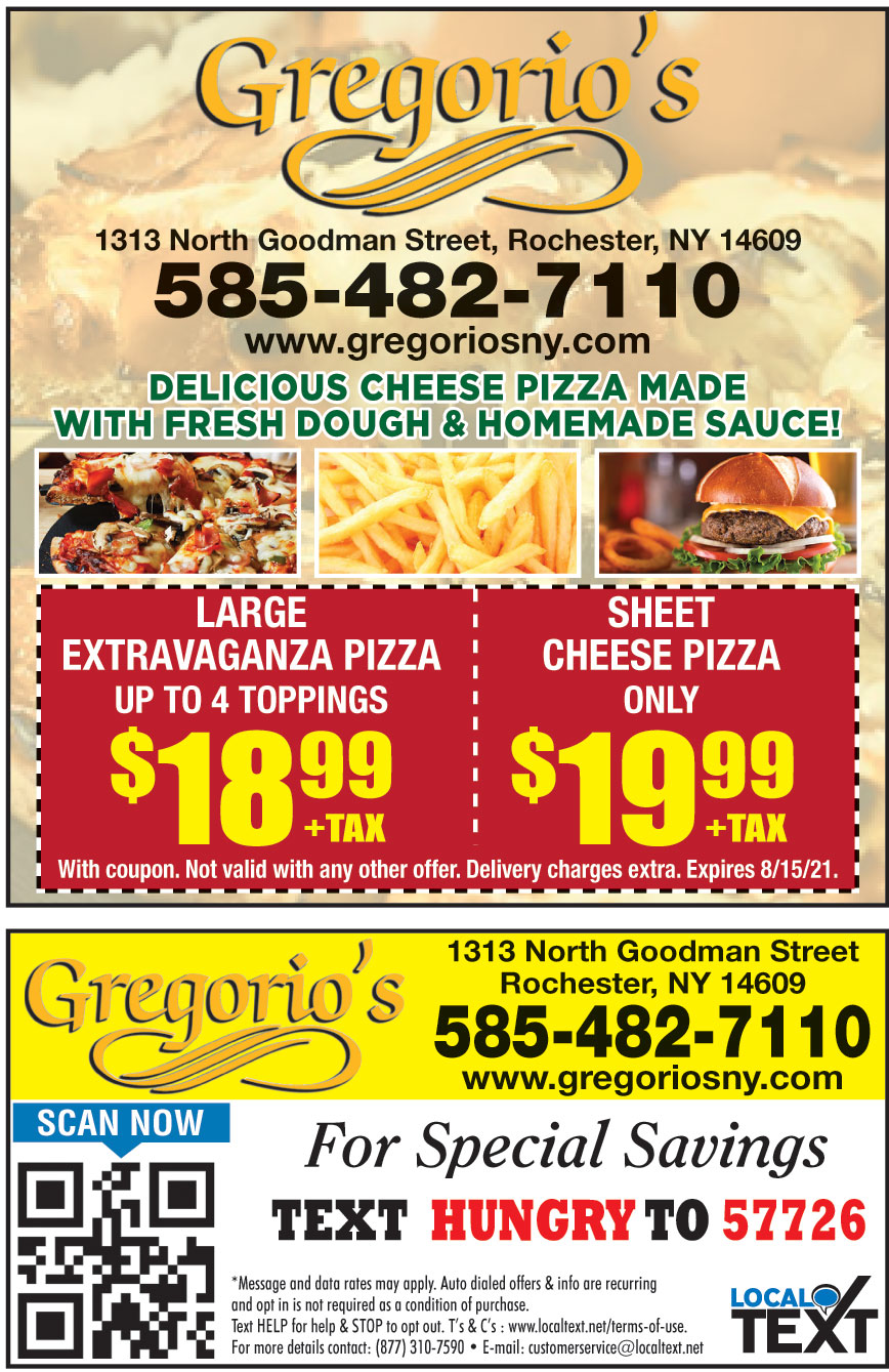GREGORIOS PIZZA