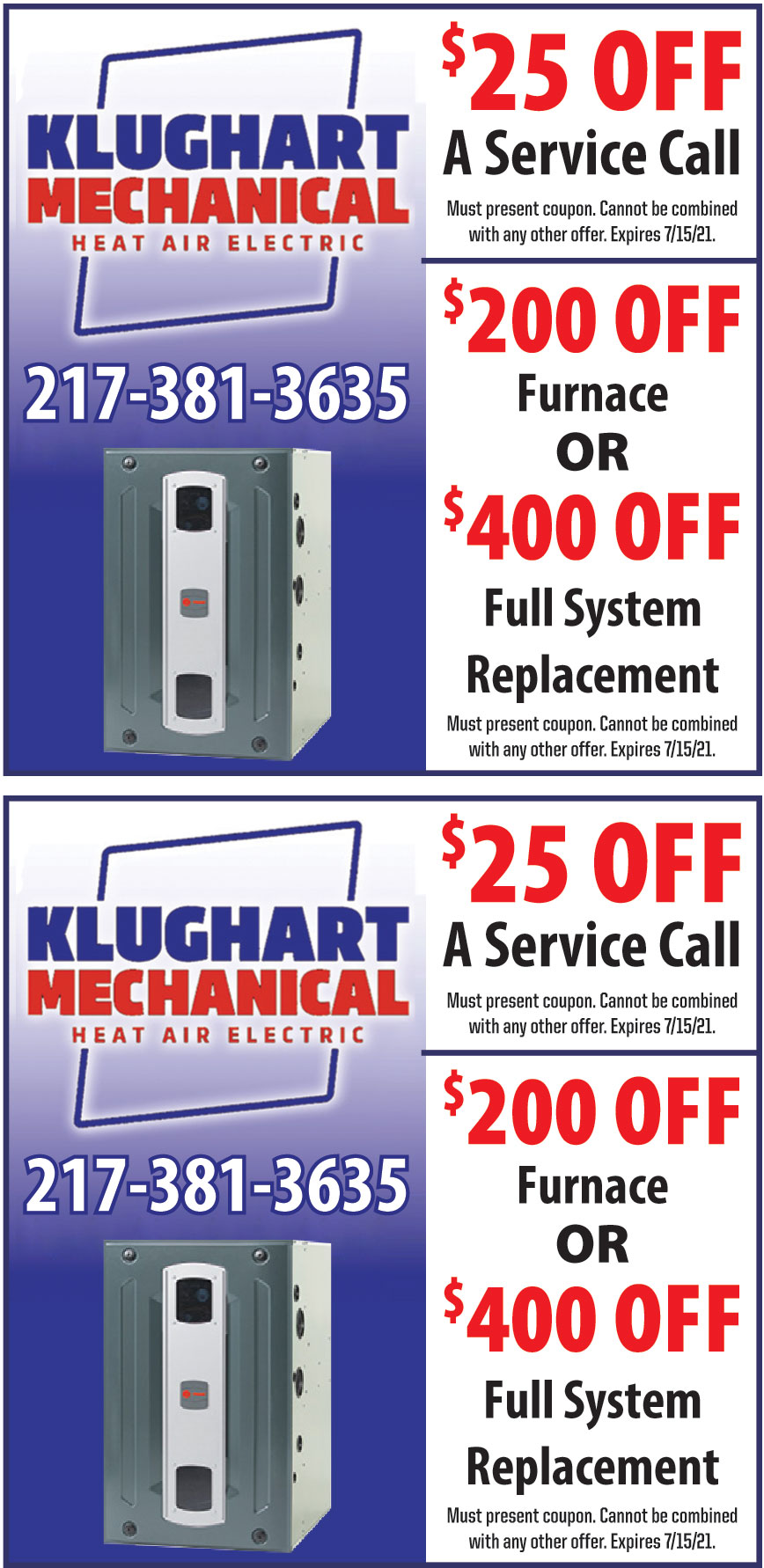 KLUGHART HEATING AND AIR