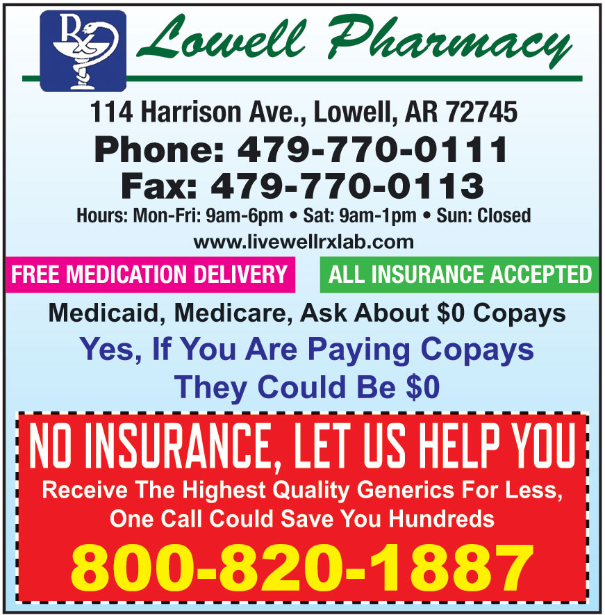 LOWELL HEALTH MART PHARMA