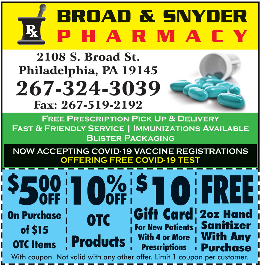 BROAD AND SNYDER PHARMACY