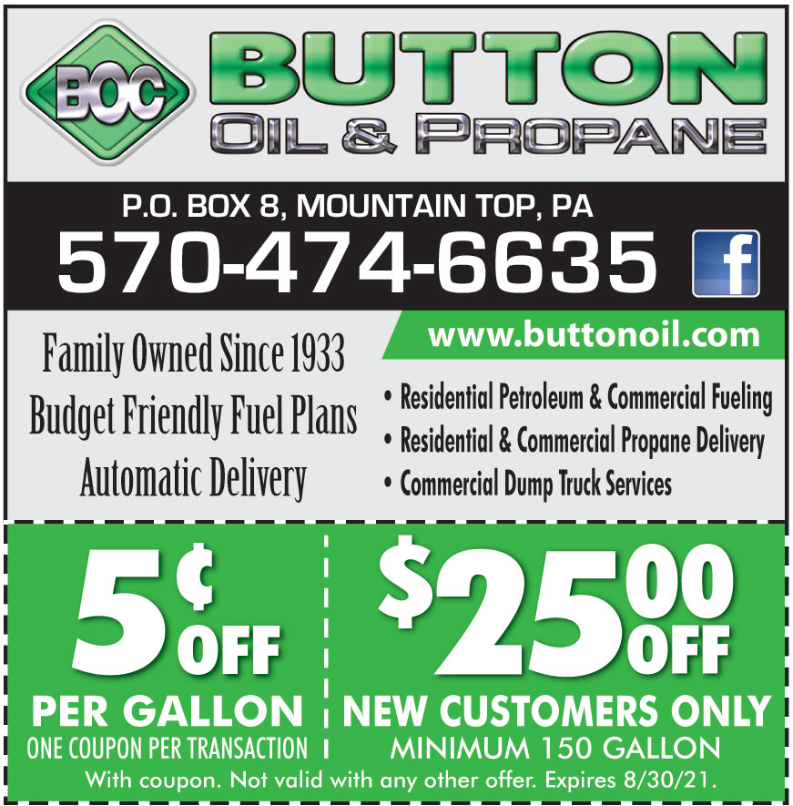 BUTTON OIL AND PROPANE