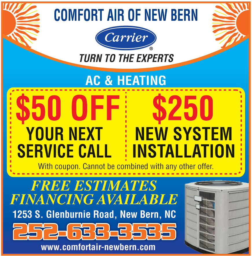 COMFORT AIR OF NEW BERN