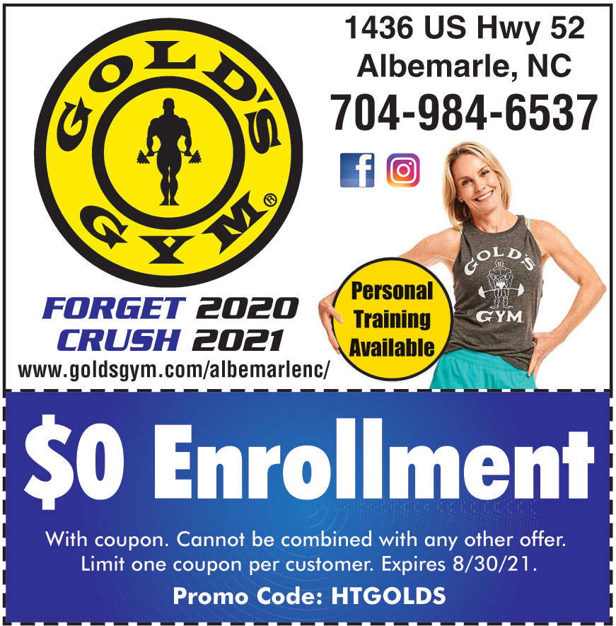 GOLDS GYM ALBEMARLE